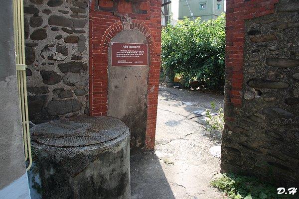 大條巷古厝旁的陳家古井