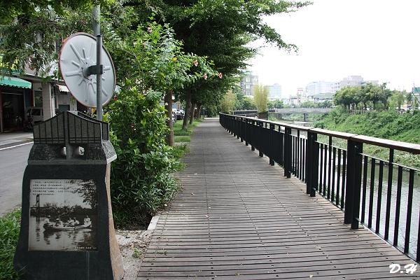 萬年溪旁的東興橋遺址