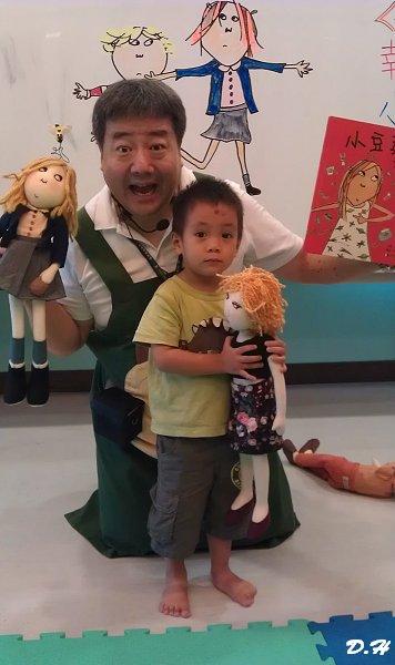 今日胖叔叔說故事:小豆芽