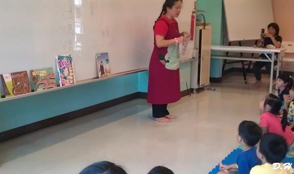 今日是鵬如媽媽代班說故事